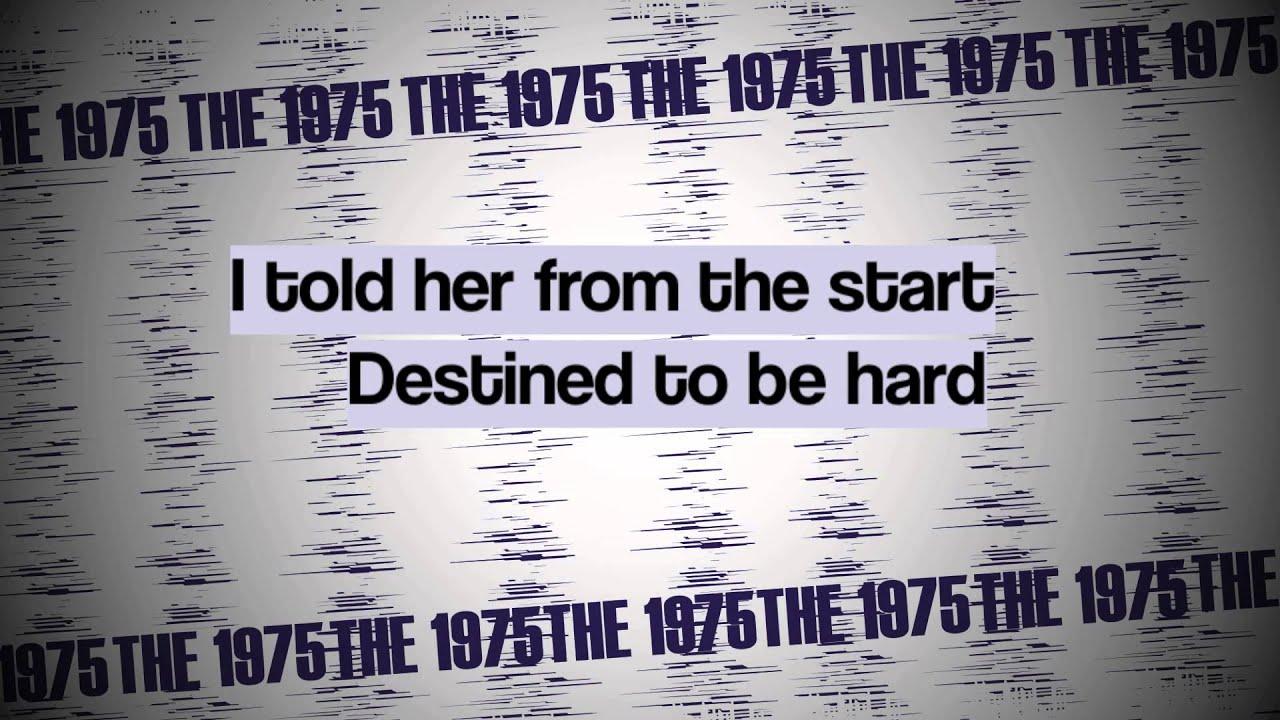 girls the 1975 lyrics youtube