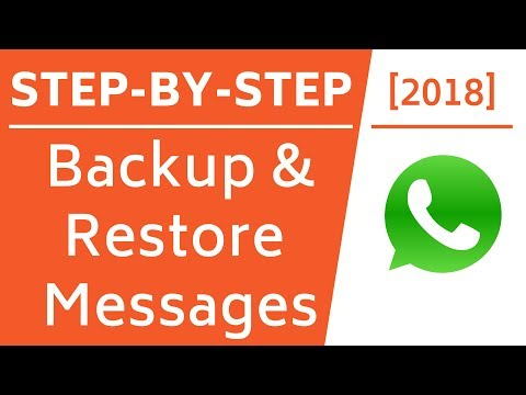 How to restore whatsapp chat on iphone 6