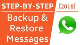 Backup & Restore WhatsApp Chats/Messages on iPhone! [Step-By-Step]