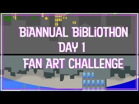 Fan Art Challege | Summer BiAnnual Bibliothon 2017