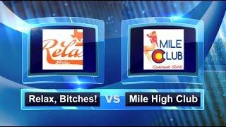 Relax, Bitches! vs Mile High Club - Finals - Women's Kansas City Kickball Open #KCKO2014