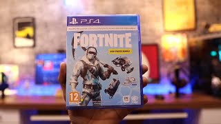 Fortnite Unboxing For PS4 Pro ( Deep Freeze Bundle )