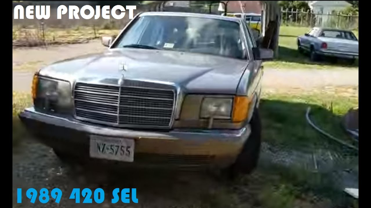 1989 mercedes 420 sel headlight trouble shooting youtube for Mercedes benz headlight problems