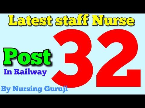 Railway staff nurse vacancy Post -32 In Secundrabad Hyderabad