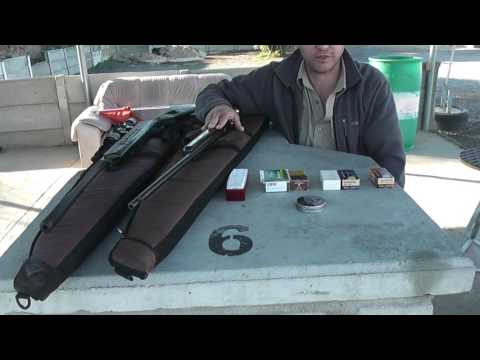 #7 - Noise comparison between various .22LR rounds and 0.177 Air Rifle
