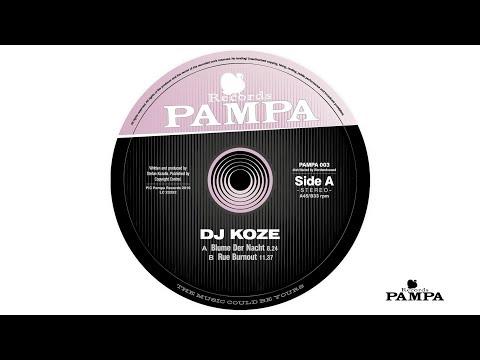 Dj Koze - Blume der Nacht (PAMPA003)