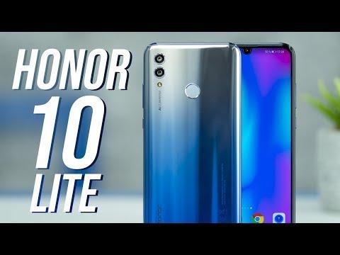 Honor 10 Lite: Líbivý elegán s moderním designem i umělou inteligencí! (PRVNÍ DOJMY #891)