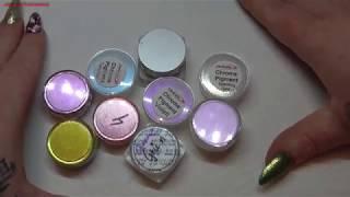 Abonnenten-Wunsch-Video Pigmente Teil 1/ NailsbyLadydesigner