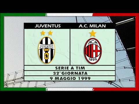 serie a 1998 99 juve ac milan full it youtube