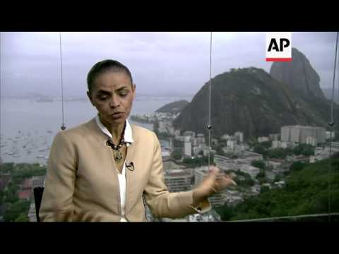 ONLY ON AP: Presidential candidate Marina Silva says if elected she will improve ties with US