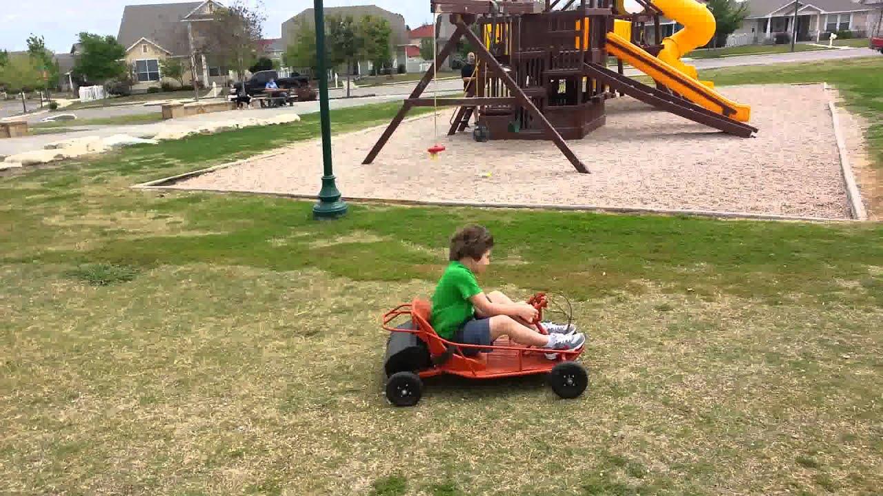36v Razor Dune Buggy Run At The Park Youtube
