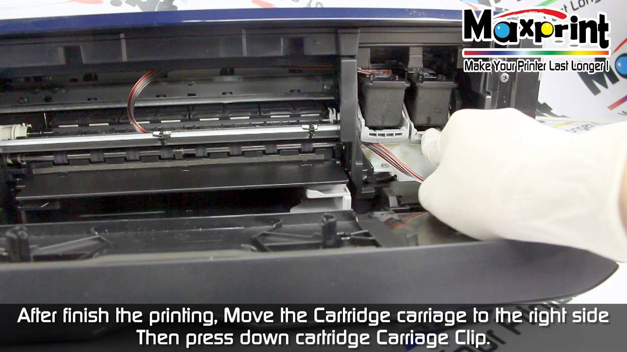 Maxprint Hybrid Ink System For Canon E500 Test Print Mp4