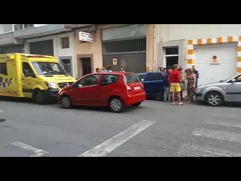 Atropello en la calle San Isidro Labrador de Lugo