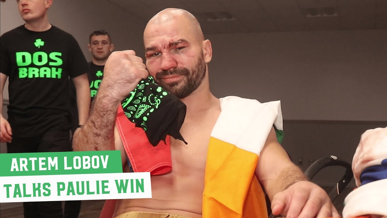 Exclusive: Artem Lobov reacts to win over Paulie Malignaggi
