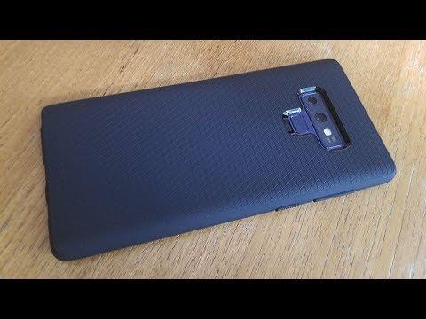 superior quality a50e9 0fd25 Spigen Liquid Air Armor Galaxy Note 9 Case Review - Fliptroniks.com