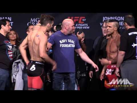 UFC 187 Weigh-Ins: Chris Weidman vs. Vitor Belfort