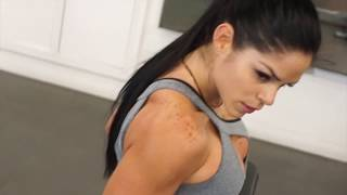 MICHELLE LEWIN Workout: All bout that booty! MAS GLUTEOS!!