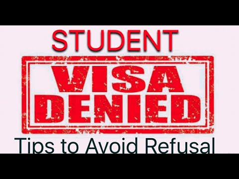 Student Visa :- Most common Reasons for refusal of your Study Permit of any country | Latest rules