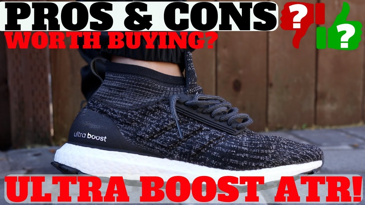 8a2085869ab After Wearing  ADIDAS ULTRA BOOST ATR  PROS   CONS! (Worth Buying ...