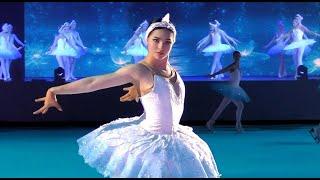 Станислава Константинова соло в шоу Евгения Плющенко Лебединое озеро 4 01 2021