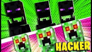 Hacking Prank Modded Minecraft Monsters Industries- Minecraft Modded Minigame