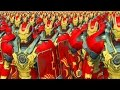 2000 IRON MAN HEARTBREAKER VS 2000 SPIDERMAN - MASSIVE SUPERHEROES BATTLE