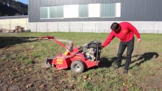 Gartenfräse groß mieten bei Rentas, Anleitung