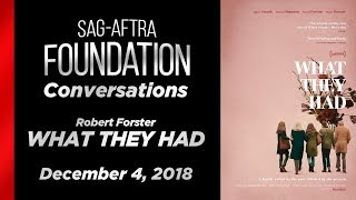 Conversations with Robert Forster of WHAT THEY HAD