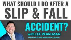 What to do Immediately After a Slip and Fall Accident in Florida