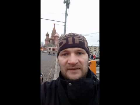 Guide and Driver in Moscow.  Vadim Pavlov.