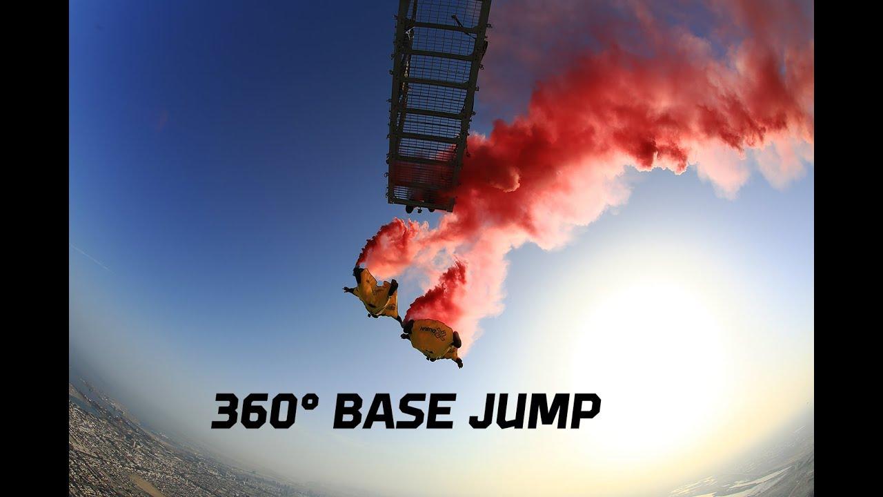VIDEO – Uno spettacolare salto nel vuoto da 828 metri!