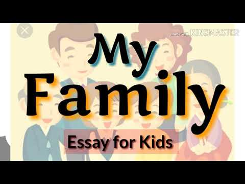 How To Write A Good Essay For High School Simple Essay On My Family For Kids  My Family Essay For Class  To  Essay On Healthy Foods also The Newspaper Essay How To Write An Essay About My Family Proposal Essay Ideas