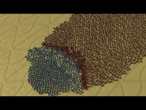 500 MARINES Vs 13000 ZERGLINGS - StarCraft 2 MASSIVE Battle