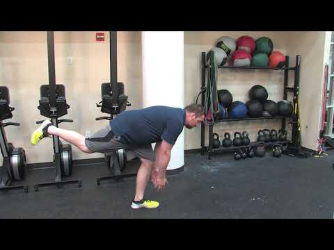 How to Perform the Walking T Stretch