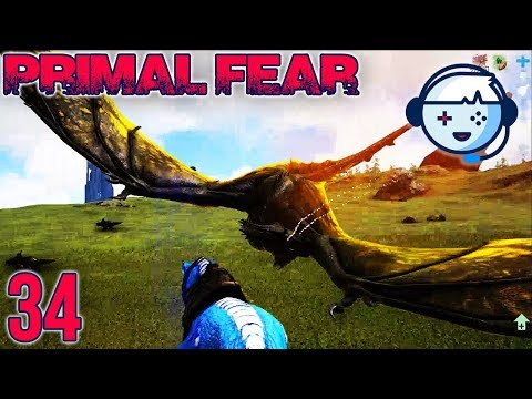 Attempting to Beat the Origin Wyvern | Primal Fear: Ragnarok | Ark: Survival Evolved | S1:Ep34