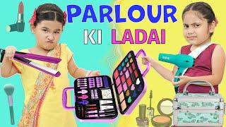 Kids Pretend Play BEAUTY PARLOR l Make-up Set Unboxing l ToyStars