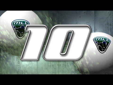 Major League Lacrosse: Top 10 Plays of Week 12