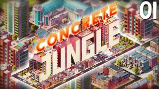 """simcity Deck Building Game?!?"" - Concrete Jungle Part 01 - 1080p Hd Pc Gameplay Walkthrough"