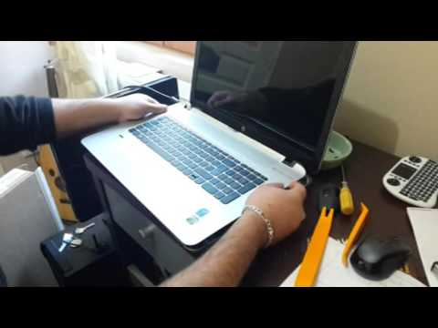 tuto demonter pc hp envy 17-k215nf