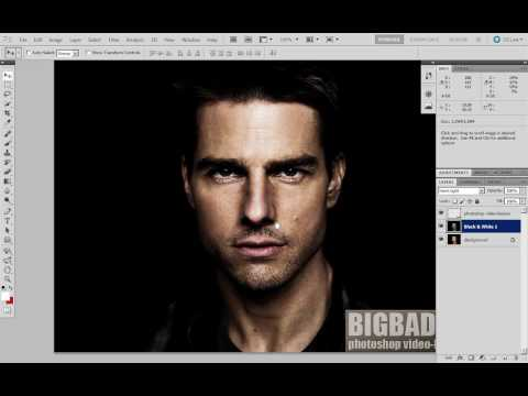 Bigbad.ru - Урок по обработке фото в Фотошопе