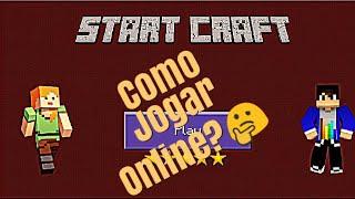 Como Jogar Online No START CRAFT Com O Amigo