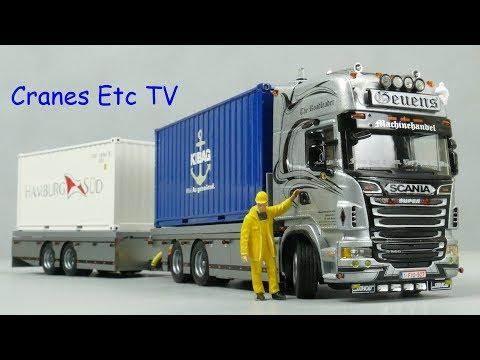 WSI Scania R Combi 'Geuens Machinehandel' by Cranes Etc TV