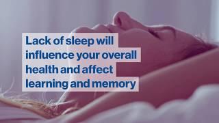 Sleep – a healthy lifestyle choice ...