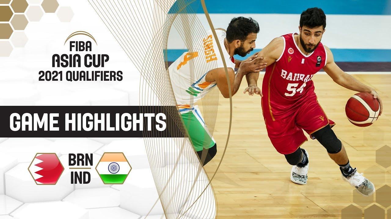 Bahrain v India - Highlights - FIBA Asia Cup 2021 - Qualifiers