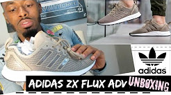 2dde20a3aa454 Adidas ZX FLUX ADVANCE VIRTUE REVIEW  Ultimate SOCK-LIKE Size EU 45 ...