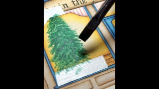 """North Star Village - """"toys In The Attic"""" Toy Store - Painting The Tree"""