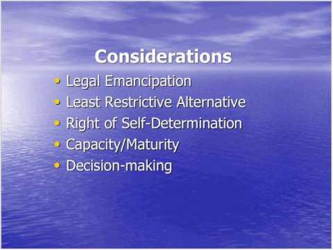 Autonomy, Decision Making Supports, and Guardianship Webinar