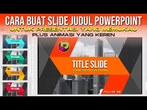 Judul Presentasi Power Point Yang Keren Plus Animasi