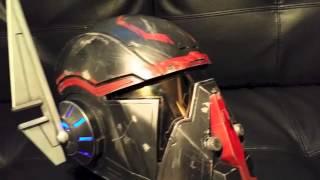 Shae Vizla Hunter's Exalted Bounty Hunter Helmet from SWTOR