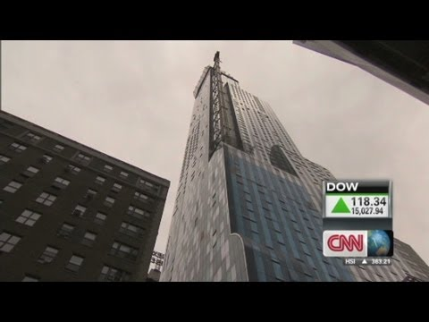 Visiting the tallest residential building in New York